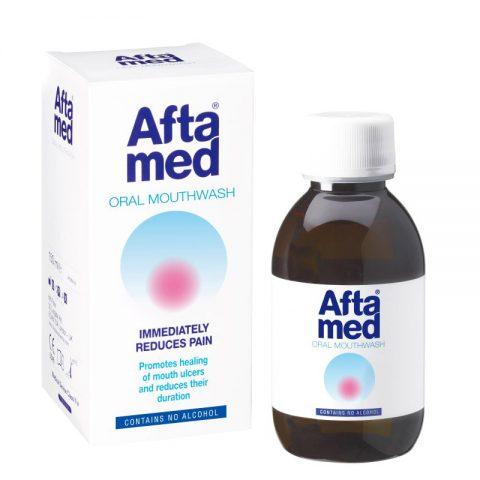 Aftamed Στοματικό Διάλυμα για πρόληψη κατά των αφθών - Aftamed.gr