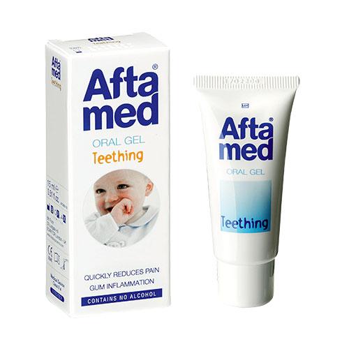 AFTAMED TEETHING GEL - Aftamed.gr